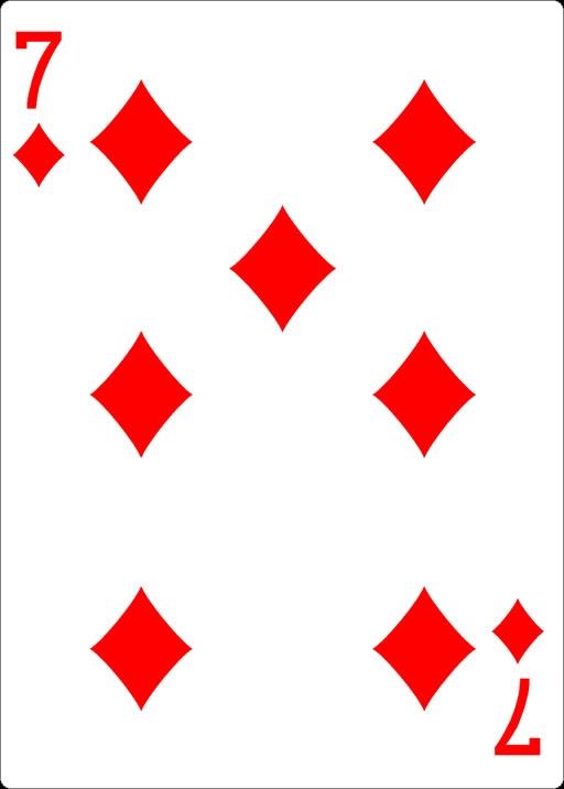Karo Spielkarte