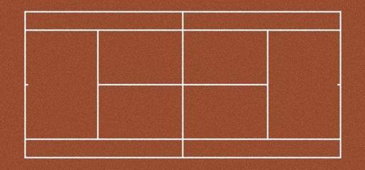 Spielfeld Tennis